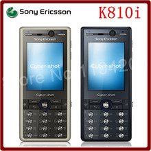 K810i Original Unlocked Sony Ericsson K810i 3.2MP 950mAh GSM 2.0Inch Refurbished Cheap Mobile Phone Free Shipping