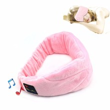 Healthy Noise Cancelling Wireless Sleep Headphones Stereo 2.4GHz Bluetooth Headset For Listenting Music Answering Phone Eye Mask
