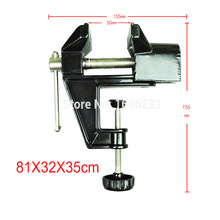 High quality Mini Table Vice Aluminium Alloy Bench Screw Bench Vise for DIY Jewelries Craft mould Fixed Repair Tool