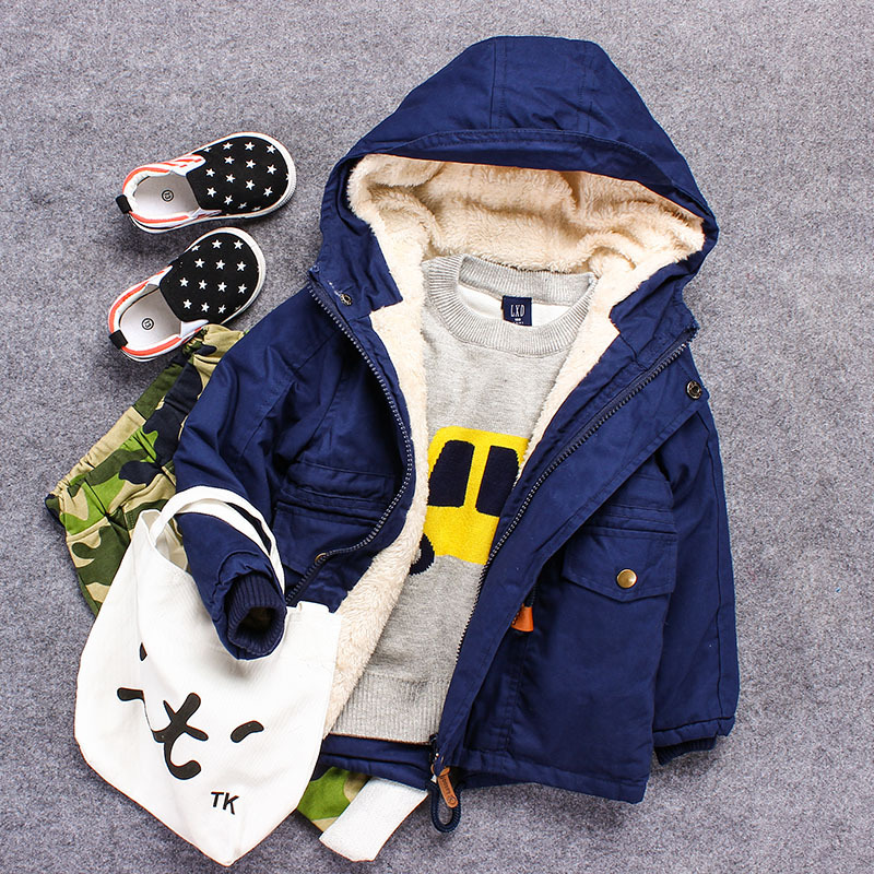 childrens winter parka down thick baby jackets snowsuit baby down coat down jacket for boys kids windbreaker trench of boy Одежда и ак�е��уары<br><br><br>Aliexpress