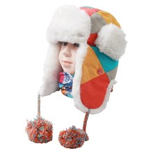 1 Pcs Kids & Parents Winter Ski Hat Trapper Trooper Hat Wind Protect Outdoor Sports Warm Keeping Equipments Accessories(China)