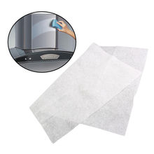 2 Pcs Home Clean Cooking Nonwoven Range Hood Grease Filter Kitchen Supplies Pollution Filter Mesh Range Hood Filter Paper Cloth(China)