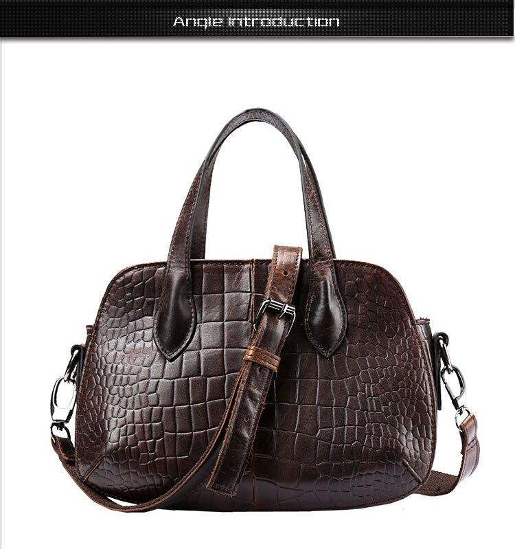 Flug Katze Womens Handbag  Leather Handbags Womens Classic Croc-Print Print Shoulder Bag Ladys Handbag Messenger Bag<br><br>Aliexpress