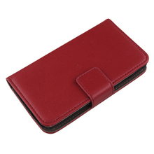LINGWUZHE Plain Genuine Leather Cover Flip Wallet Design Cell Phone Holster Case For Cubot X17