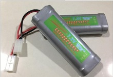 SC 7.2V 6800mAh Ni-MH Rechargeable Battery Pack Tamiya For RC Car Boat Plane Aircraft Super Power New Shipping