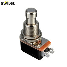 1pc SPST Momentary Soft Touch Push Button Stomp Foot Pedal Electric Guitar Switch(China)