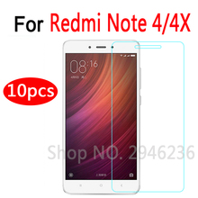 Buy 10Pcs/lot Tempered Glass Xiaomi Redmi Note 4 4X Amazing Anti-Explosion Screen Protector Redmi Note 4X Touch Phone Screen for $6.39 in AliExpress store
