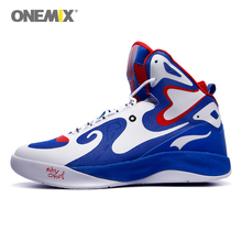 2016 Brand Basketball Shoes Sport For Men Sneakers Anti Skid Man Athletic Trainers Track Onemix chaussure de basket-ball 7 Color(China)