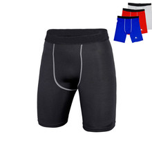 Base layer Compression Shorts Men Underwear football Basketball Shorts Athletic Gym Fitness Sports Running Short(China)