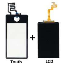 Black LCD display touch screen with digitizer assembly For ipod nano 7 7th free shipping