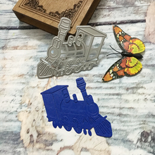 New Greeting Cards Scrapbook Craft Dies Scrapbooking 3D Stamp DIY Scrapbooking Card Making Photo Decoration Supplies Locomotive