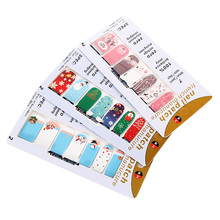 3 Sheets Fashion Christmas 2017 Mixed Designs Water Transfer Wraps Nail Art Tips Beauty Sticker Nail Decals Tools Sets