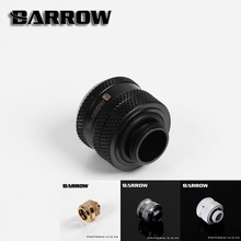 Barrow White Black Silver Gold  OD14mm Hard tube fitting hand compression fitting G1/4'' OD14mm hard pipe TYKN-K1410 V4