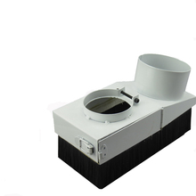 Diameter 105mm CNC router dust collector Spindle Dust Cover Dust protection D105 for CNC woodworking engraving machine Dustproof(China)