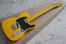 Factory Custom free shipping High Quality Custom 52 Yellow telecaster Electric Guitar American Standard Guitar in stock 1027