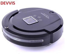 ( Russia Moscow Warehouse) Robot Vacuum Cleaner(Sweep,Vacuum,Mop,Sterilize)Schedule,SelfCharge,Remote Control,UV,LCD(China)