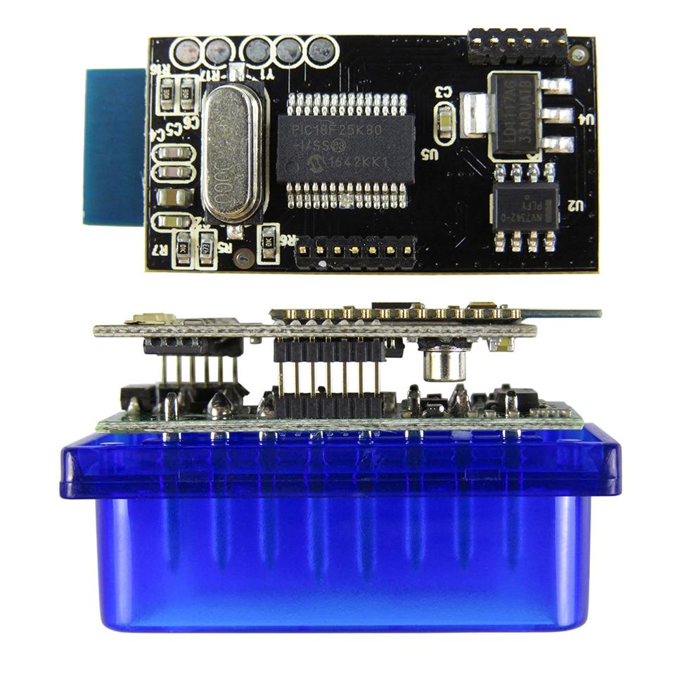Super Mini Elm327 Bluetooth OBD2 V1.5 Elm 327 V 1.5 OBD 2 Strumento diagnostico per auto 1