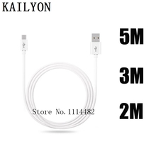 For Doogee X5 Pro X6 X3 Micro USB Cable Android 2m 3m 5m Extension Mobile Phone Charging Cable For Doogee X5 Max Pro X6 Charger