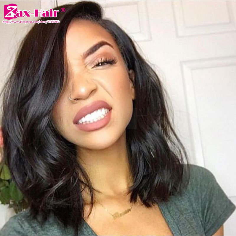 Glueless Full Lace Wigs For Black Women Virgin Wavy Lace Front Wigs Stocked 7A Unprocessed Human Hair Human Hair Lace Front Wigs<br><br>Aliexpress