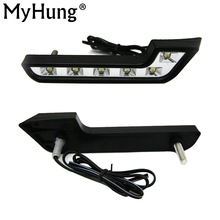 For  MERCEDES BENZ Smart Fortwo LED Day  Lighting DAY DRIVING LAMP Daytime Running Lights Fog Lamps DRL Hot Sale