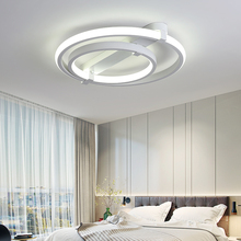 New Circle Rings designer Modern led ceiling lights lamp for living room bedroom Remote control ceiling lamp fixture