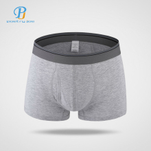 New Hot Men Boxers Underwear Pants Cotton Opening Waist Shorts Homme Sexy Men's Underwear Brand Boxer Sexy Panties(China)