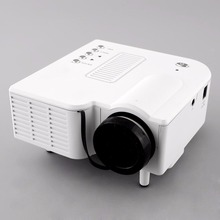 UC28 Mini LED Digital Video Game Projectors Multimedia player Inputs AV VGA USB SD proyector Built-in Speaker data show Hot