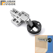 Cabinet glass door hinge/damping,Mute,Buffer hydraulic hinge,with Decorative cover,Furniture Hardware(China)