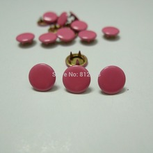 50 Sets 10mm Solid Color #18 PEACH PINK Prym Prong Snap Buttons Oeko-Tex 100 Certificate Approve(China)