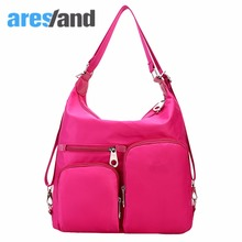 Aresland NEW Multifunction Water Resist Mummy Bag One-Shoulder Women's Handbag Diaper Bag Portable Aslant Purple Classic Design