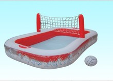 "54125 Bestway Volleyball entertainment inflatable pool baby bath play pool 8'3""x66""x38""/2.51mx1.68mx97cm Inflate-A-Volley Pool(China)"