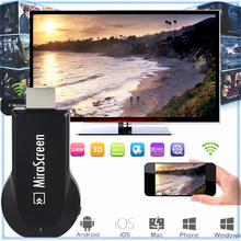 Mirascreen HDMI Android TV Stick Dongle Better Than EasyCast EZCAST Wi-Fi Display DLNA Airplay Miracast Airmirroring Chromecast