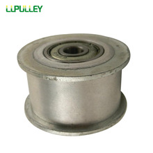 LUPULLEY Idler Pulley 5M Type 20T Bore 5/6/7/8/10/12/15mm Width 16/21/27mm HTD5M Tension Belt Idler Width Bearing 1PC(China)