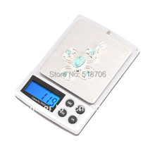 60pcs 2kg 0.1 High Quality strain gauge load 2000g 0.1g Electronic Digital Balance Weight Pocket Jewelry Scale