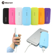 MAXNON Power Bank 18650 5600mah Power Bank Extreme Powerbank External Battery case Portable Charger for mobile iphone 6S mi5