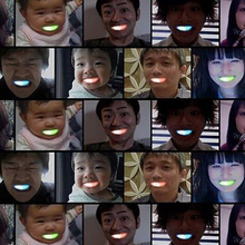Top Fashion 10pcs LED Flashing Brace Mouth Guard Piece Festive Party Supplies Glow Tooth Funny Light Up Colorful Children Toys(China)