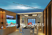 S-7940 /Print Ceiling tiles /PVC Stretched Ceiling Film/Home or Ceiling Decoration/Function as Ceiling Panel