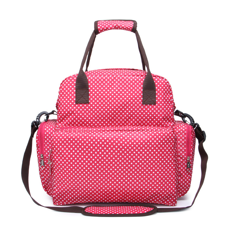 New Hot Mummy Maternity Nappy Purse Mommy Shoulder Messenger Hand Bag Travel Backpack Women Waterproof Nursing Packs Baby Care<br>