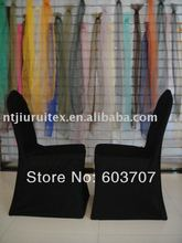 free shipping new black spandex chair cover wholesale top cheaper price(China)