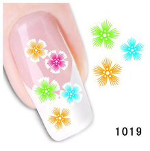 Bittb 2pcs Snowflake Nail Art Sticker Water Transfer Nail Decal Tips Decoration Fingernail Nail Tool Beauty Diy Nail Stickers