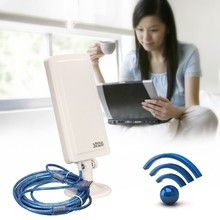 Newest 2.4GHz 150Mbps WiFi Antenna 2500m Long Distance Range Wireless Extender Booster Repeater USB Adapter
