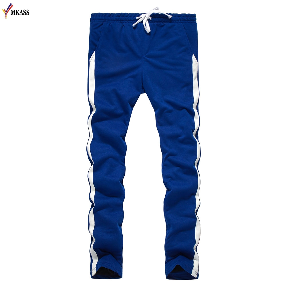 Hot Sale 2018 New Jogger Pants Men Fitness Bodybuilding Gyms Pants For Runners Man Workout  Spring Sweat Trousers