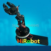 4 dof Mechanical Arm, Robot Arm,Claw,gripper,clamp holder, Alluminum Alloy Robot parts for DIY, robotic hands, Course Project