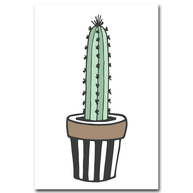Nordic-Art-Plant-Cactus-Canvas-Poster-Painting-Modern-Nursery-A4-Wall-Picture-Children-Kids-Room-Decoration.jpg_640x640 (1)