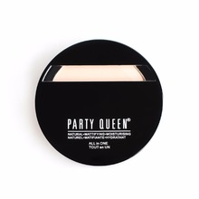 PARTY QUEEN Oil Control Powder Foundation Waterproof Wet And Dry Dual Purpose Face Powder Brightening Moisture Concealer Palette(China)