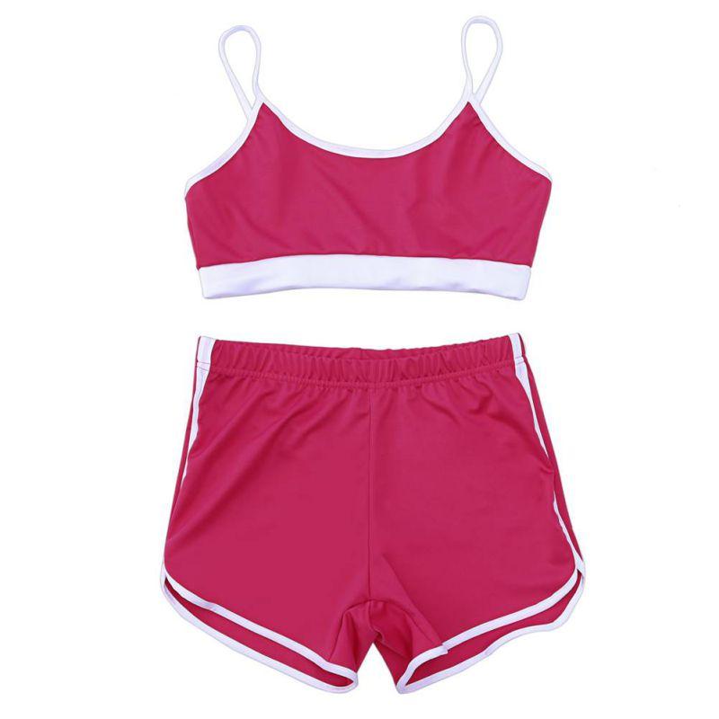 Sport Suit Tracksuit Bra+Short Sportswear 20
