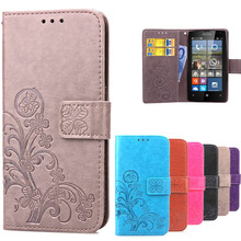 Amazing Case For Microsoft Lumia 532 Leather Flip Wallet Cover Case For Microsoft Lumia 532 phone case with Card Holder