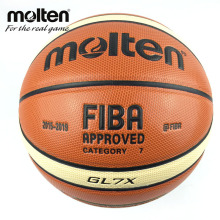 New Season 2015-2019 Official Original Molten Basketball Ball GL7X Ball NEW Arrival Molten PU Size 7 Basketball Gifts Net Needle(China)