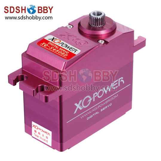 XQ Power S4808D 8.5V 8.5kg/ 65g High Voltage Digital Servo with All Metal Gears<br><br>Aliexpress
