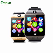 TROZUM 2017 Bluetooth Smart Watch Q18S Smartwatch Support SIM Card GSM Video camera Support Android/IOS Smart Phone PK GT08 DZ09(China)